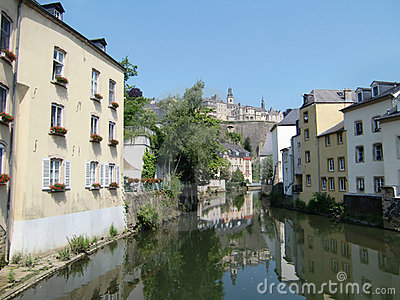 Alzette River, Luxembourg