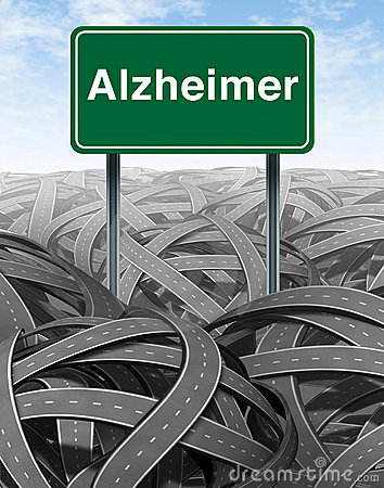 Alzheimer Disease and Dementia Medical concept