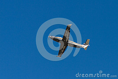 AMAC Aerospace Pilatus PC-12/47E Editorial Stock Photo