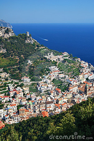 Amalfi from Above