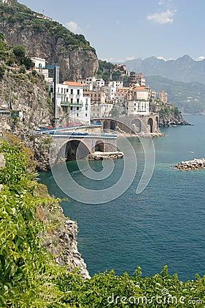 Free Amalfi Coast, Italy Royalty Free Stock Image - 2529926