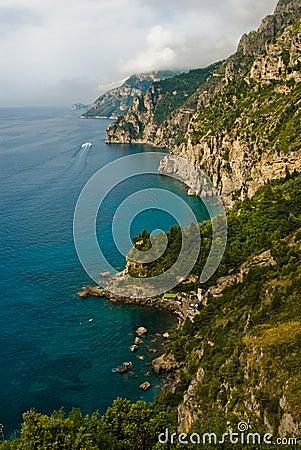 Free Amalfi Coast Of Italy Royalty Free Stock Photography - 14536637