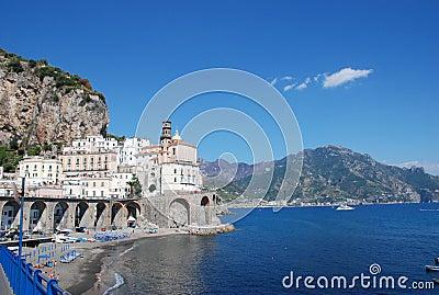 Amalfi Coast town of Almati