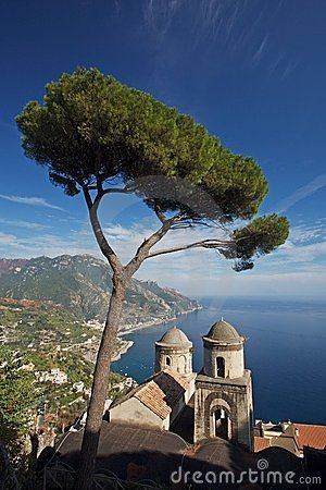 Free Amalfi Coastal View Stock Image - 3479591