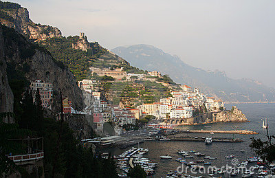 Amalfi in southern Italy