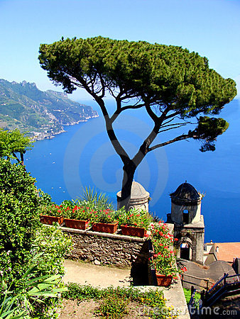 Free Amalfi View Royalty Free Stock Images - 18265099