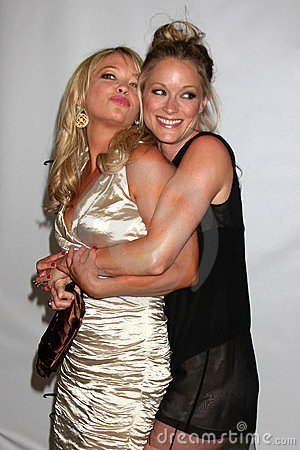 Amanda Detmer, Teri Polo Editorial Stock Photo