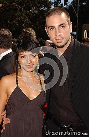 Amanda Rodriguez and Wade J. Robson at the 2007 Primetime Creative Arts Emmy Awards. Shrine Auditorium, Los Angles, CA. 09-08-07 Editorial Image