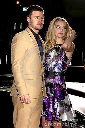 Amanda Seyfried, Justin Timberlake Editorial Photography