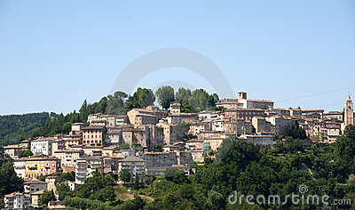 Amandola (Marches, Italy) - Old town