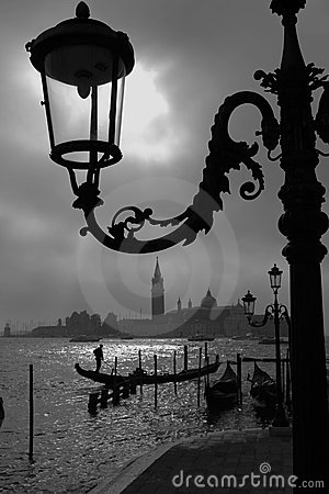 Amanhecer em Veneza.