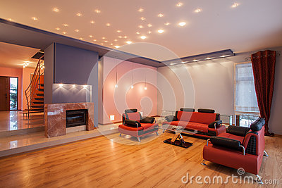 Amaranth house - Living room