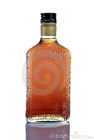 Amaretto(liquor) bottle