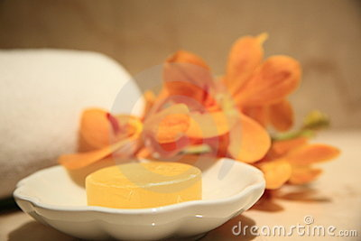 Amarillo, jabón