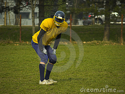 Amateur Football Player