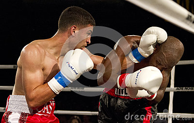 Amateur and Professional Boxing Editorial Stock Image