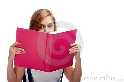 Amazed reader