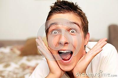 Amazed Teenager