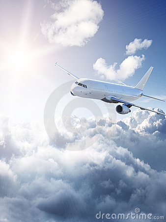 Free Amazing Aircraft In The Sky Royalty Free Stock Image - 13916756
