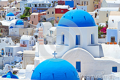 Amazing architecture of Santorini