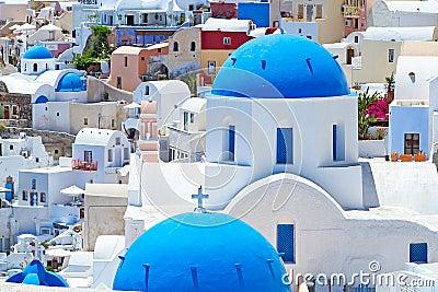 Amazing architecture of Santorini