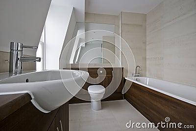 Amazing bathroom with marble