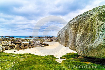 Amazing beach in brittany