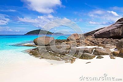 Amazing beach of Similan Island