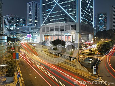 Amazing City Traffic at Night