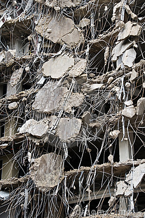 Free Amazing Demolition Series Royalty Free Stock Photography - 4813167