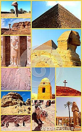 Free Amazing Egypt. Collage. Royalty Free Stock Images - 26500969