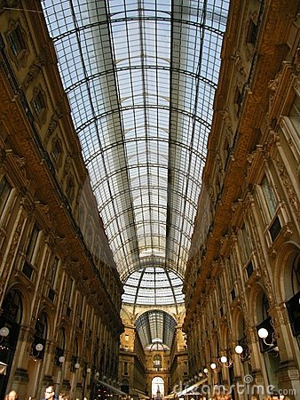 Amazing Galleria Milan Italy Europe