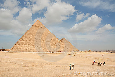 Amazing Giza Pyramids