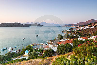 Amazing Mirabello Bay view on Crete