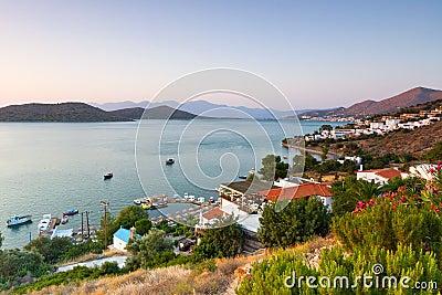 Amazing Mirabello Bay view on Crete