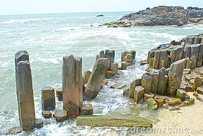 Amazing rock formations in St. Mary s Island
