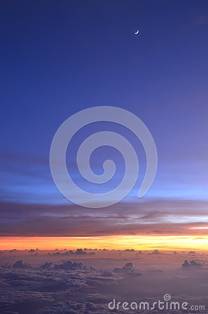 Amazing Sunset at Flight