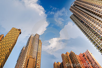 Amazing tall apartment