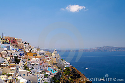 Amazing view of Thira