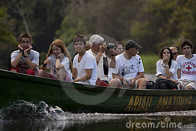 Amazon expedition Editorial Image