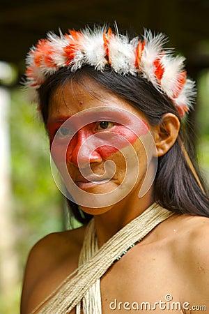 Free Amazon Indian Woman Stock Photography - 2394432