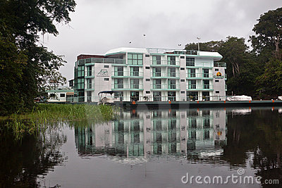 Amazon Jungle Palace Hotel Manaus Brazil Editorial Photography