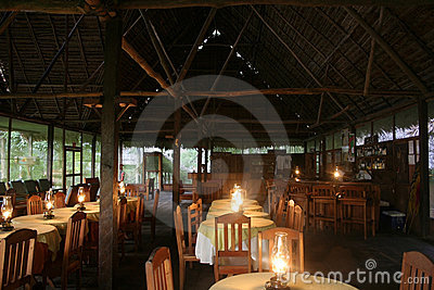 Amazon Lodge Dining Room