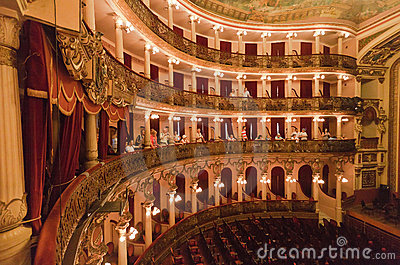 Amazonas Theatre Manaus Brazil Editorial Photo