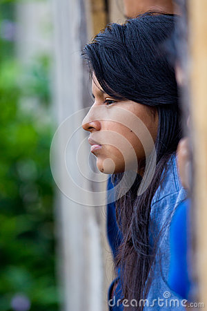 Amazonian Quechua woman Editorial Photo