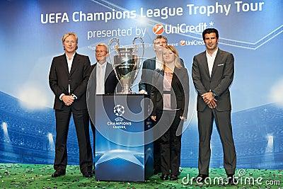 Ambassadors UEFA Editorial Photography