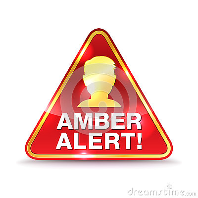 Free Amber Alert Warning Icon Illustration Royalty Free Stock Photo - 73974455