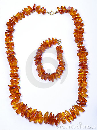 Free Amber Bead Royalty Free Stock Image - 8140616