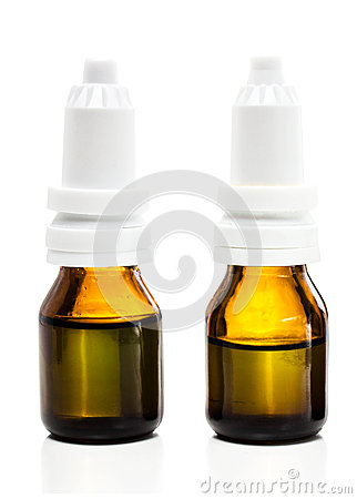 Amber dropper  bottles with oil, medicine or other beneficial l