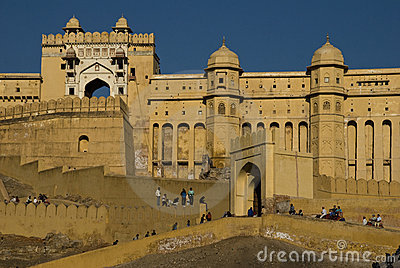 Amber Fort Editorial Photo